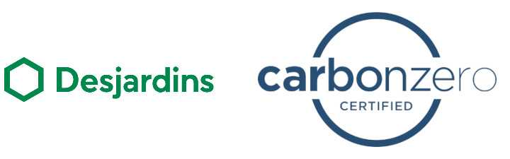 Desjardins and Carbonzero logos 720